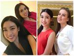 Hoa hậu Đỗ Mỹ Linh đẹp rạng rỡ bên các thí sinh Miss World 2017