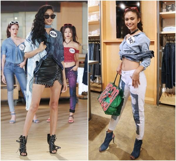Sau 3 tập thất bại, Hoàng Thùy và Mâu Thủy có chiến thắng đầu tiên tại Hoa hậu Hoàn vũ Việt Nam-5