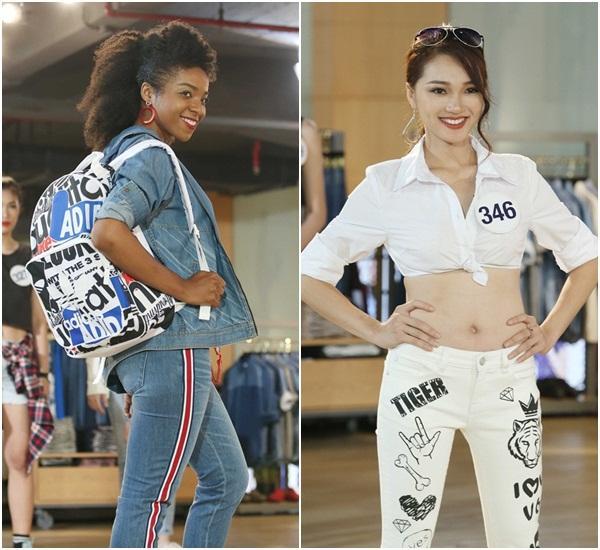 Sau 3 tập thất bại, Hoàng Thùy và Mâu Thủy có chiến thắng đầu tiên tại Hoa hậu Hoàn vũ Việt Nam-6