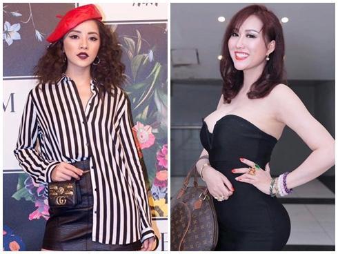Phi Thanh Vân khoe ngực phản cảm, Chi Pu make-up 'ma quái' lọt top sao mặc xấu tuần này