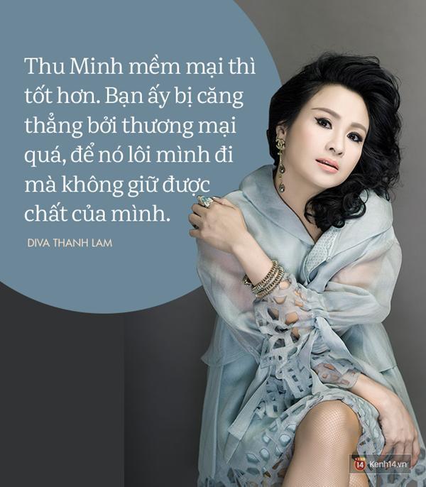 8 phát ngôn trong âm nhạc thẳng như ruột ngựa, chẳng ngại đụng chạm của Diva Thanh Lam-7