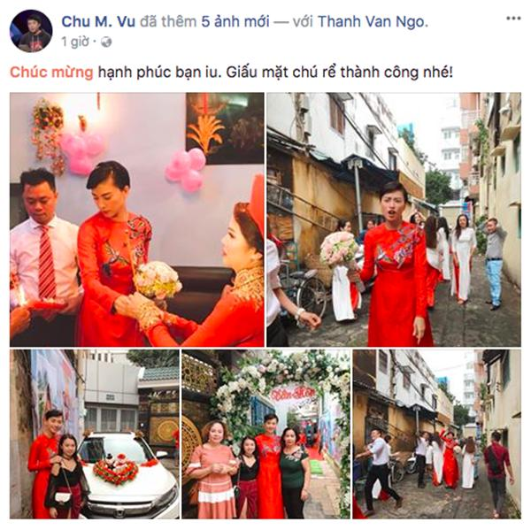Dân mạng xôn xao trước hình ảnh Ngô Thanh Vân mặc áo dài trong lễ rước dâu-1