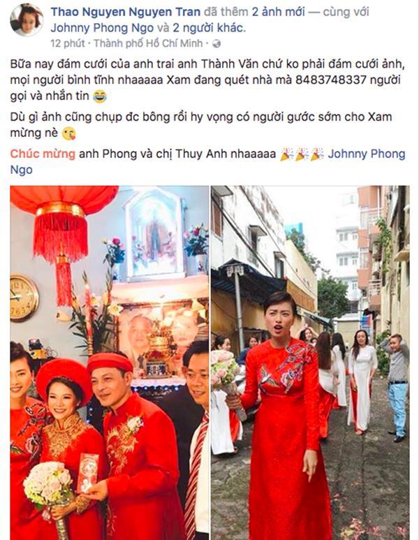 Dân mạng xôn xao trước hình ảnh Ngô Thanh Vân mặc áo dài trong lễ rước dâu-4