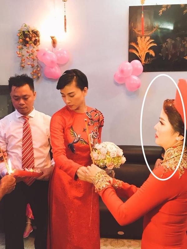 Dân mạng xôn xao trước hình ảnh Ngô Thanh Vân mặc áo dài trong lễ rước dâu-5