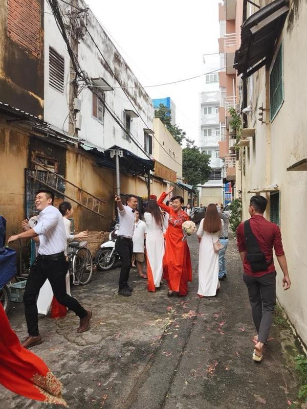 Dân mạng xôn xao trước hình ảnh Ngô Thanh Vân mặc áo dài trong lễ rước dâu-6