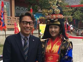 Sao Hàn 22/10: Người đẹp không tuổi Oh Ji Eun tổ chức hôn lễ theo phong cách truyền thống