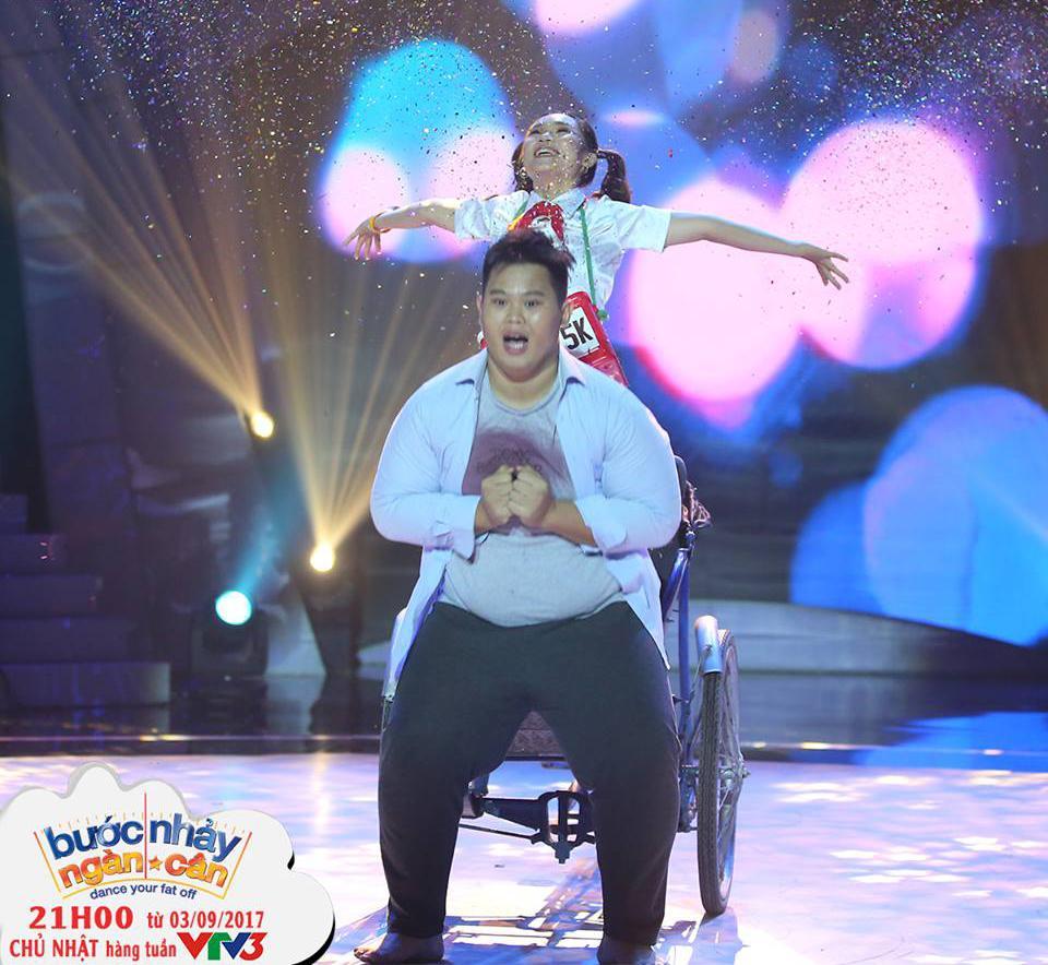 Bước nhảy ngàn cân: Nàng béo từng bị trầm cảm khiến bộ 3 giám khảo khóc nghẹn vì diễn quá đạt-3