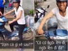 Clip hài: Không nhịn được cười với màn hướng dẫn chị đi... xe máy