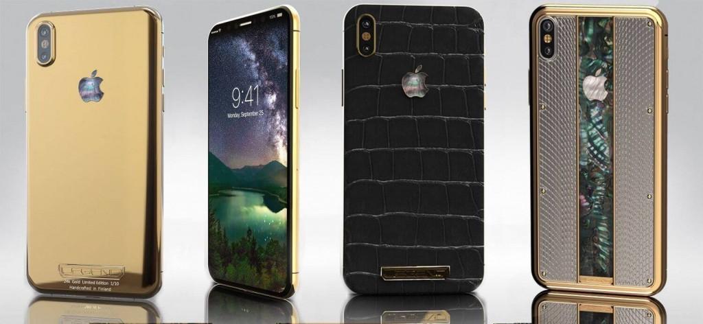 iPhone X mạ vàng khảm xà cừ giá trăm triệu, thú chơi của giới siêu giàu-1