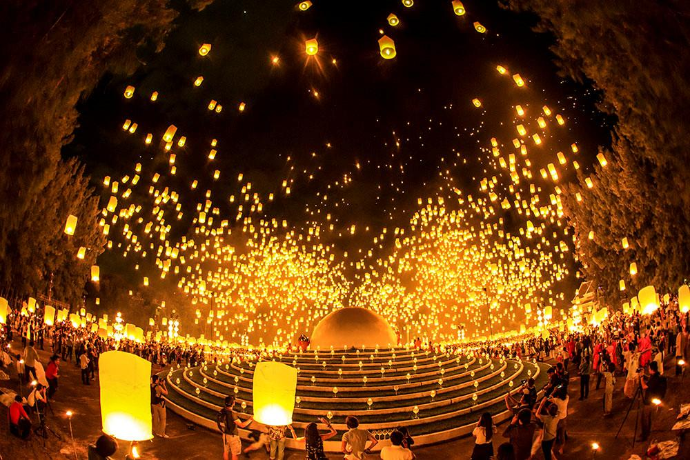 Đi ngắm Chiang Mai rực sáng trong lễ hội Loy Krathong-7