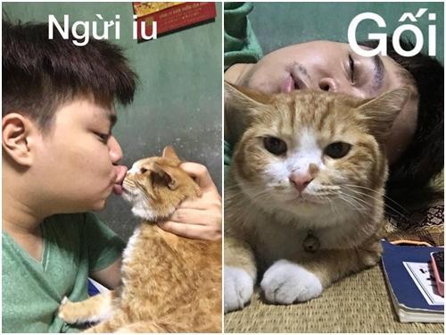 Ảnh hài: Cách 'sử dụng' mèo bá đạo mà không phải ai cũng biết