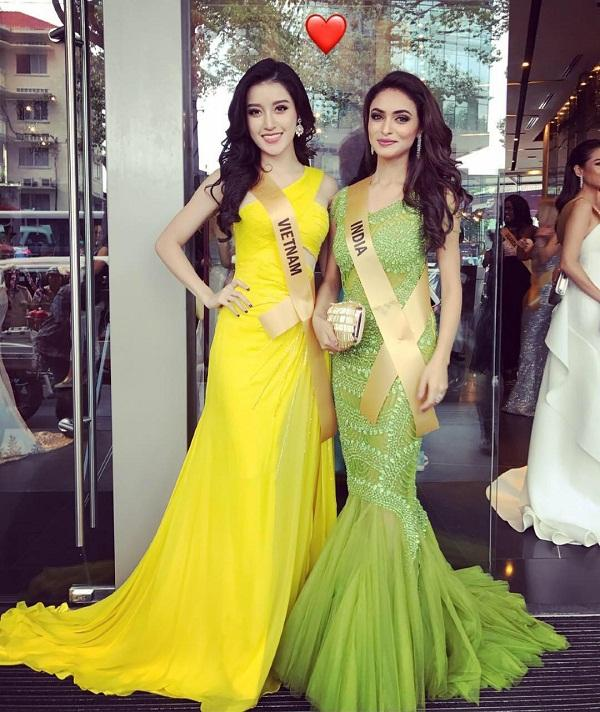 Hội chị em bạn dì của Huyền My có khả năng dắt tay nhau vào top 5 Miss Grand 2017-7