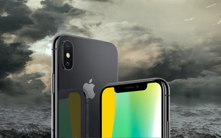 Sau sự cố camera, iPhone X lại có thêm rắc rối mới-1
