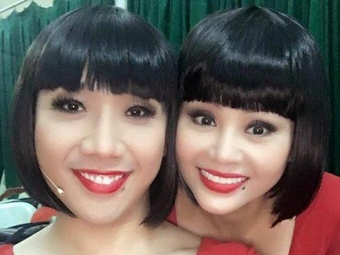 Tin sao Việt 23/10: 'Chết cười' khi nghe Trấn Thành hướng dẫn Lê Giang đọc tiếng Anh