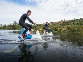 Manta5: Xe đạp điện lội nước tương lai cho vùng lũ