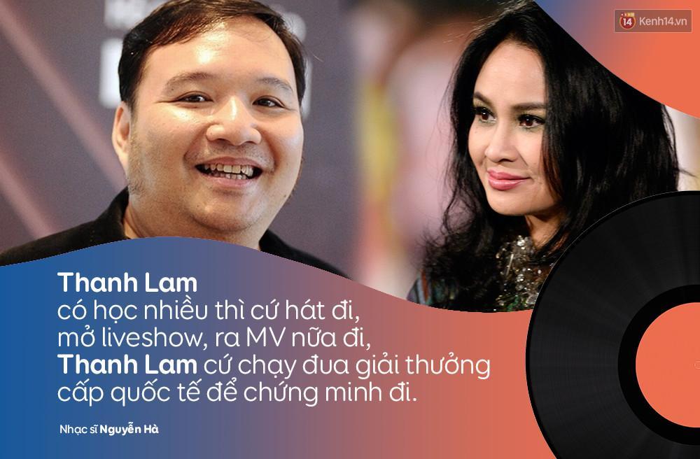 Nhạc sĩ Nguyễn Hà: Thanh Lam có học nhiều thì cứ hát, chạy đua giải thưởng để chứng minh đi-1