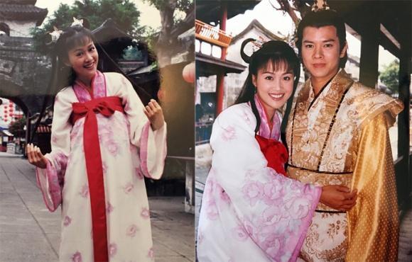 Ở tuổi 48, nàng Chúc Anh Đài - Lương Tiểu Băng vẫn vô tư diện đồ như thiếu nữ-3