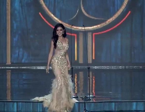 Huyền My tỏa sáng rực rỡ trong đêm bán kết Miss Grand International 2017-2