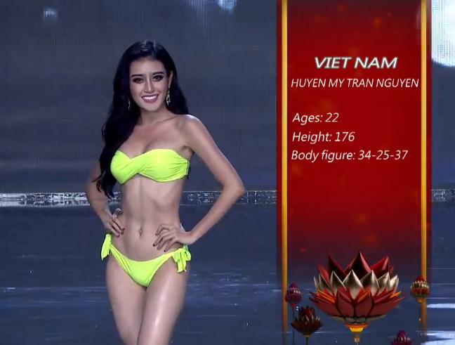 Huyền My tỏa sáng rực rỡ trong đêm bán kết Miss Grand International 2017-4