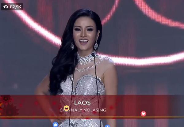 Huyền My tỏa sáng rực rỡ trong đêm bán kết Miss Grand International 2017-7