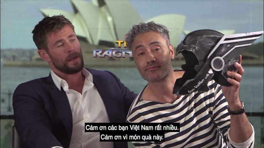 Chris Hemsworth phấn khích khi biết fan Việt gọi mình là Thỏ-4