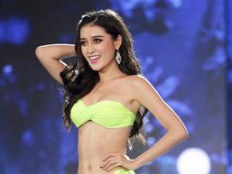 Huyền My tỏa sáng rực rỡ trong đêm bán kết Miss Grand International 2017