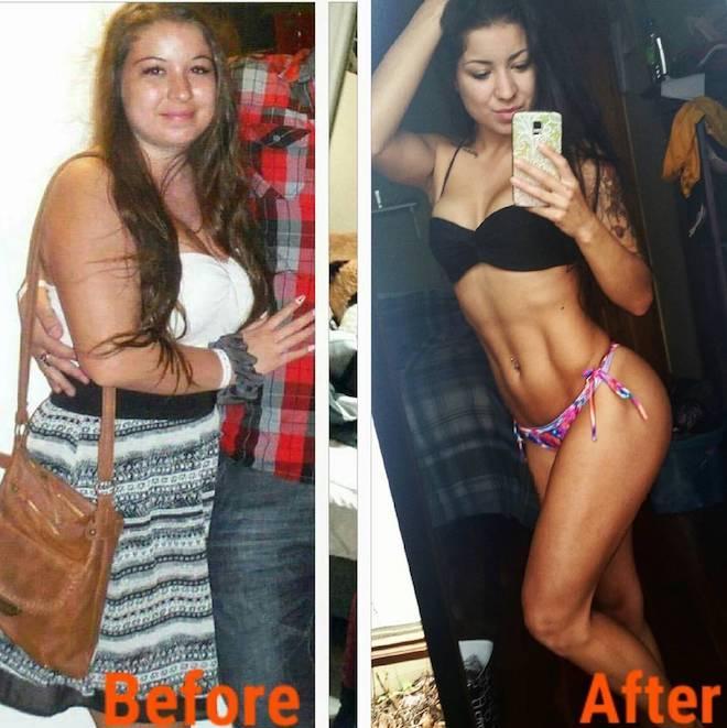 Đổi đời với thành quả ngọt ngào sau nỗ lực giảm cân và tập luyện-2