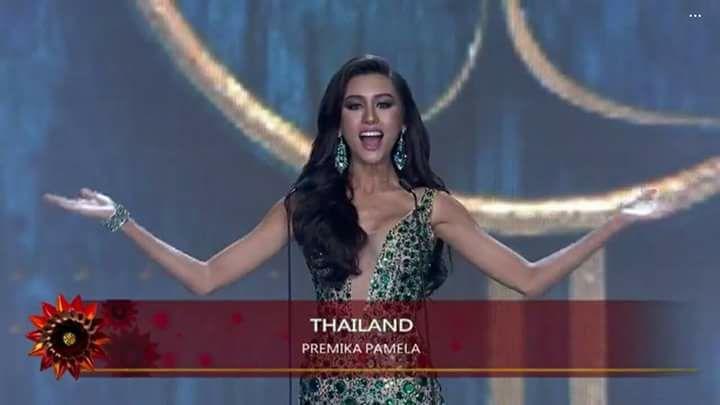 Người đẹp Thái Lan vấp té ngay trên sân khấu Miss Grand International 2017-1