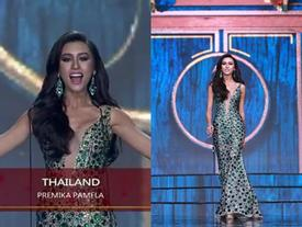 Người đẹp Thái Lan vấp té ngay trên sân khấu Miss Grand International 2017