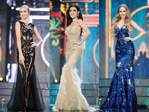 Top 10 bộ cánh dạ hội đẹp xuất sắc ở bán kết Miss Grand International 2017