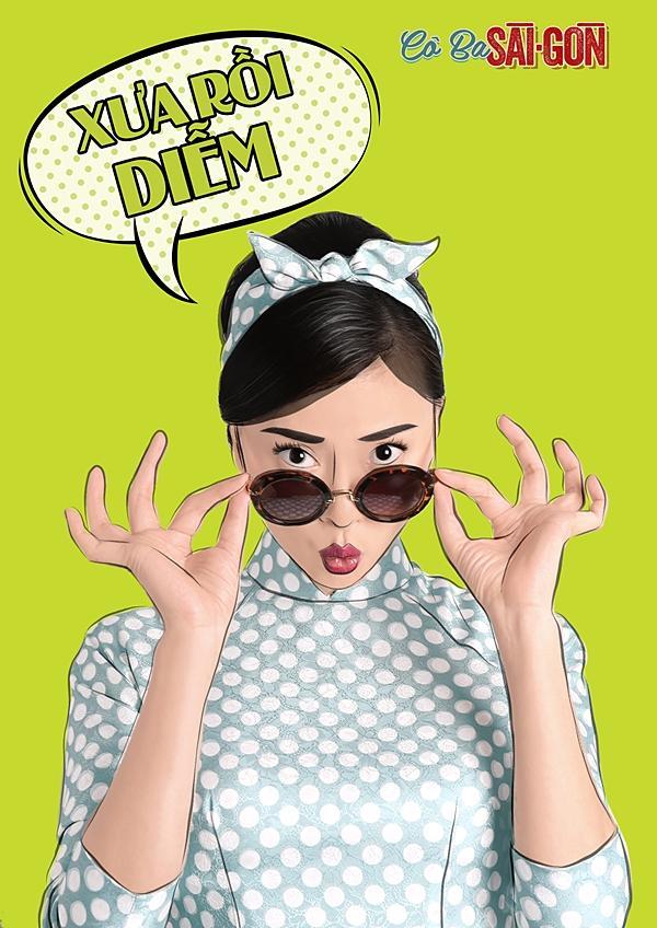 Dàn mỹ nhân Cô Ba Sài Gòn sặc sỡ, nhí nhảnh với bộ ảnh phong cách pop-art-2