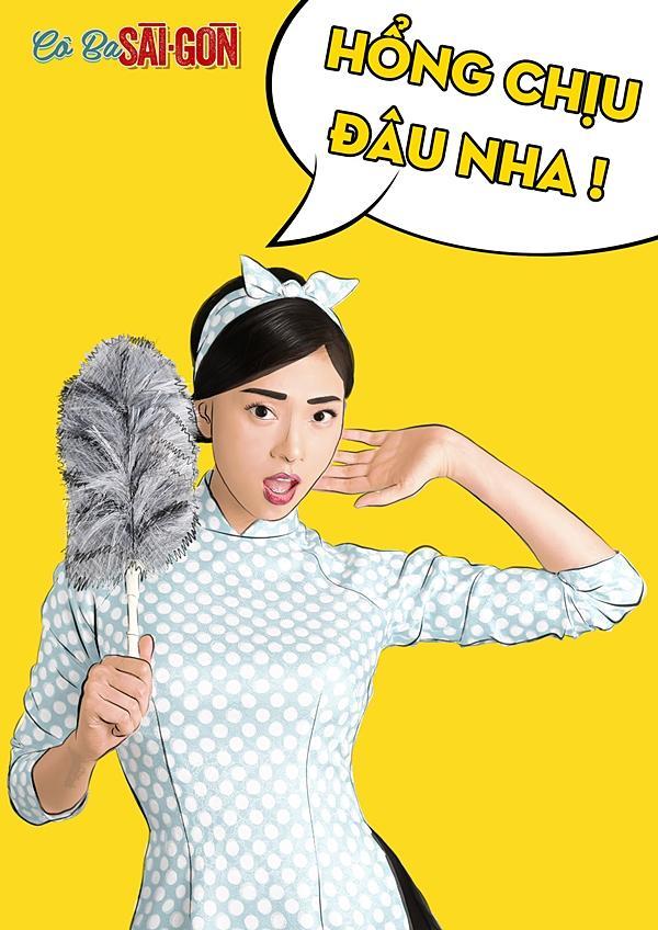 Dàn mỹ nhân Cô Ba Sài Gòn sặc sỡ, nhí nhảnh với bộ ảnh phong cách pop-art-3
