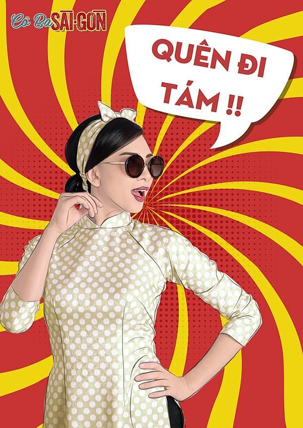 Dàn mỹ nhân Cô Ba Sài Gòn sặc sỡ, nhí nhảnh với bộ ảnh phong cách pop-art-4