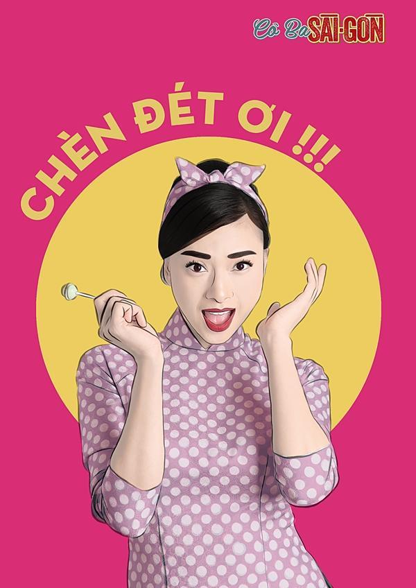 Dàn mỹ nhân Cô Ba Sài Gòn sặc sỡ, nhí nhảnh với bộ ảnh phong cách pop-art-5