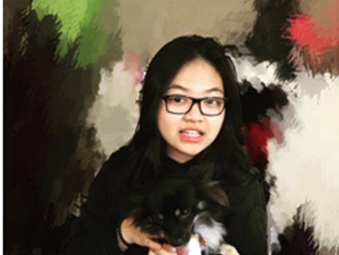 Chân dung cô gái người Việt được lên sân khấu biểu diễn cùng nghệ sĩ piano điển trai Hàn Quốc