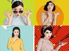 Dàn mỹ nhân 'Cô Ba Sài Gòn' sặc sỡ, nhí nhảnh với bộ ảnh phong cách pop-art