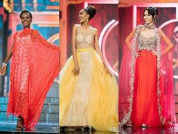 Những bộ đầm dạ hội xấu tệ tại bán kết Miss Grand International 2017