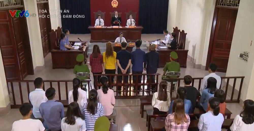 Chân dài gây xôn xao phố Trần Duy Hưng làm diễn viên Tòa tuyên án trên VTV6-1