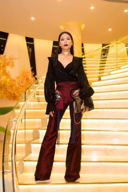Nguyễn Thị Loan sang chảnh, Diệu Nhi suýt thành 'thảm hoạ' khi mặc chung thiết kế-3