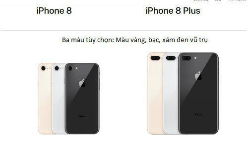iPhone 8 chính hãng chốt ngày lên kệ ở VN-3