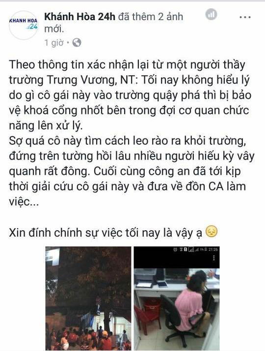 Thực hư sự việc cô gái mặc váy treo cổ tự tử tại trường học ở Nha Trang giữa đêm-4