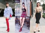 Bảo Anh - Hồ Ngọc Hà 'lên đồ' street style gợi cảm nhất tuần qua