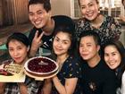 Như thường lệ, Tăng Thanh Hà vẫn chỉ đón sinh nhật bên nhóm bạn thân thiết này
