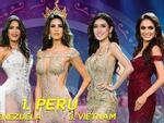 Sát giờ chung kết Miss Grand 2017, Huyền My 'thống trị' các bảng xếp hạng sắc đẹp quốc tế