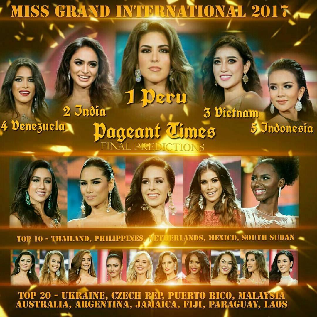 Sát giờ chung kết Miss Grand 2017, Huyền My thống trị các bảng xếp hạng sắc đẹp quốc tế-3