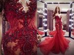 Hé lộ chiếc đầm lộng lẫy giúp Huyền My tỏa sáng trong đêm chung kết Miss Grand 2017