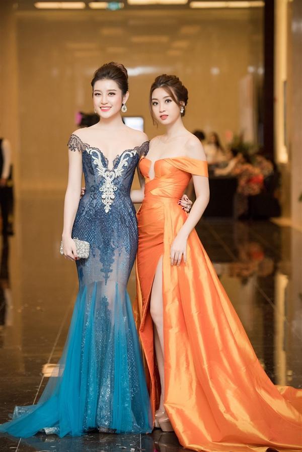 Bận rộn tại Miss World, Đỗ Mỹ Linh vẫn không quên ủng hộ tinh thần Huyền My trong đêm chung kết HH Hoà bình 2017-2