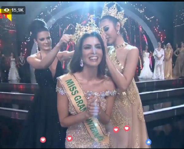Người đẹp Peru lên ngôi Miss Grand International 2017-2