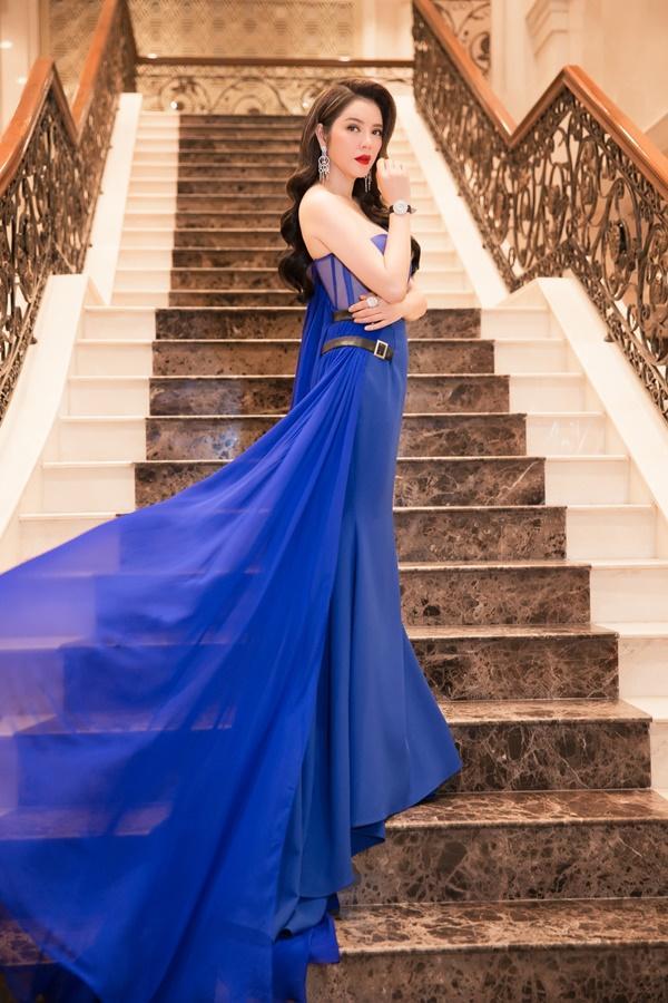 Lý Nhã Kỳ lộng lẫy như bà hoàng ngồi chấm Miss Grand International-4