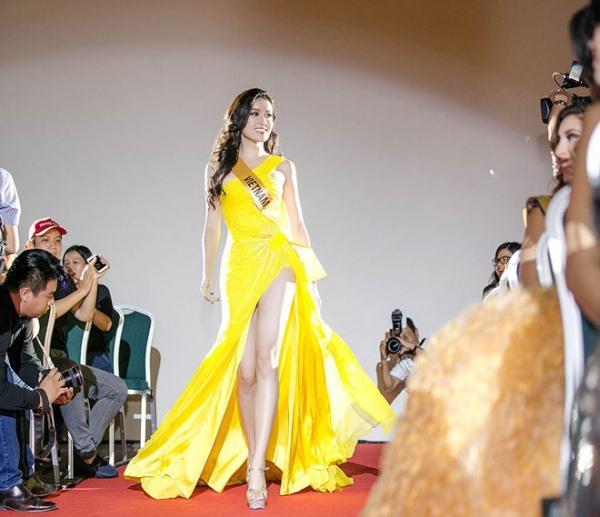 Nhìn lại hành trình tỏa sáng của Huyền My ở Miss Grand International 2017-1